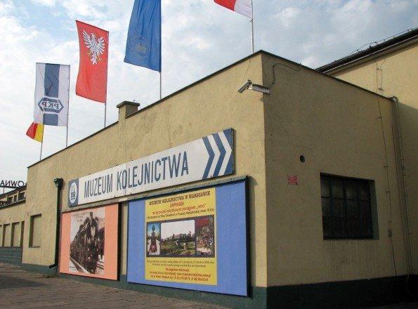 Siedziba Muzeum Kolejnictwa w Warszawie
