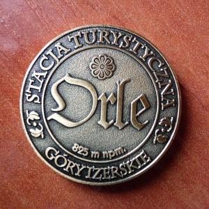 Medal pamiątkowy Stacji Turystycznej ORLE - awers (fot. ST Orle)